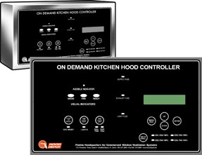 Control Panels Cabinets For Your Commercial Kitchen Hood