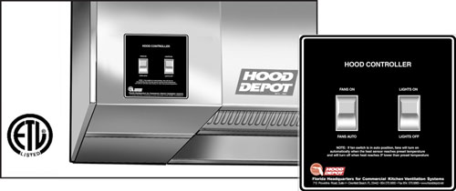 Control Panels Cabinets For Your Commercial Kitchen Hood Depot