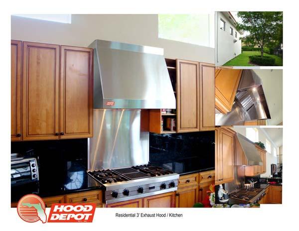 Residential Kitchen Exhaust Hoods ~ Job gallery hood depot