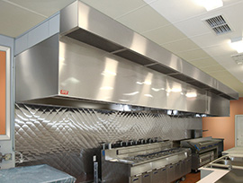 Commercial Ventless Kitchen Exhaust Hoods