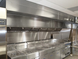 Commercial Kitchen Hood Ventilation And Exhaust Fans