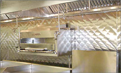 Commercial Kitchen Wall Panels